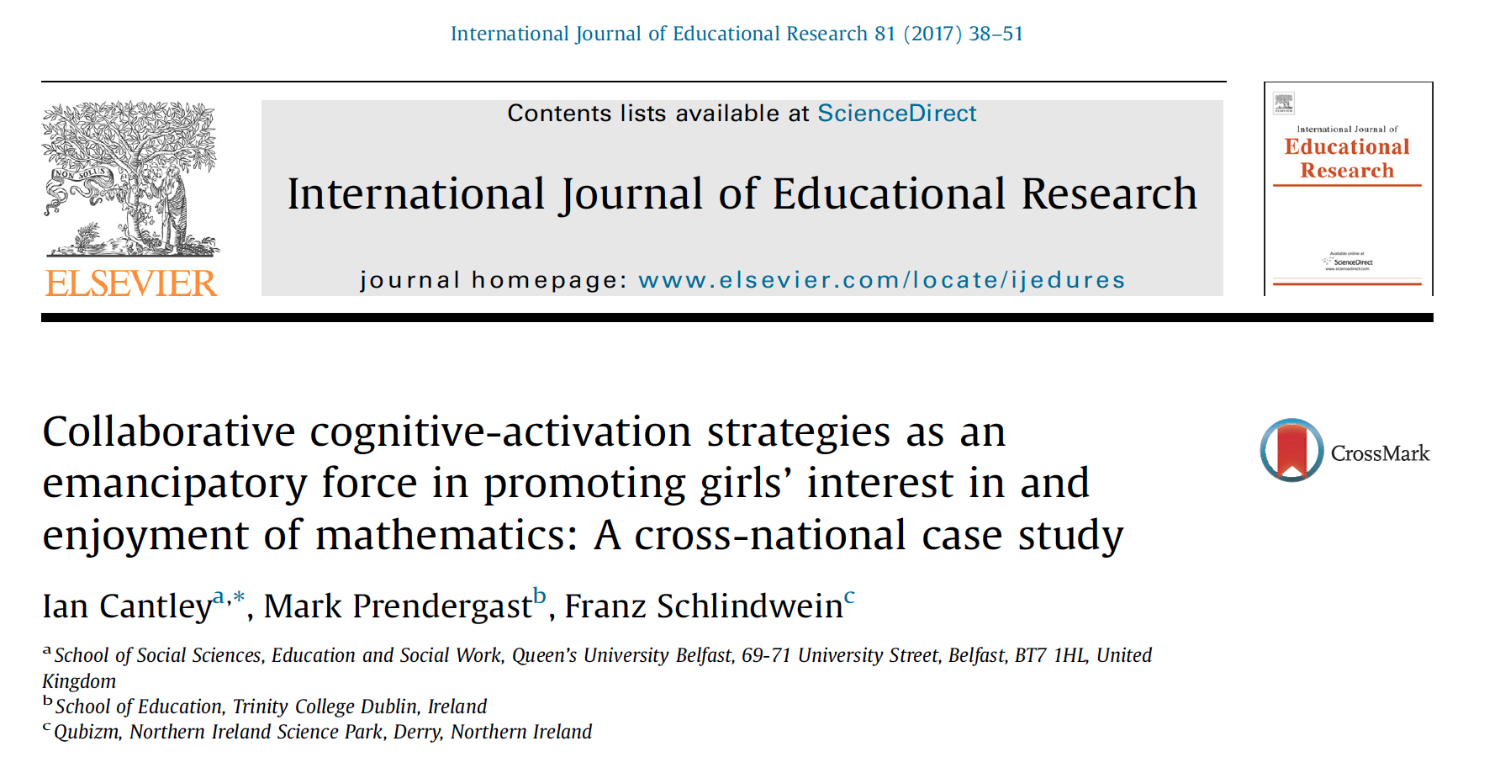 International Journal Of Education Research
